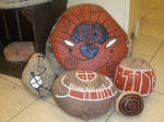 runestones and petroglyphs