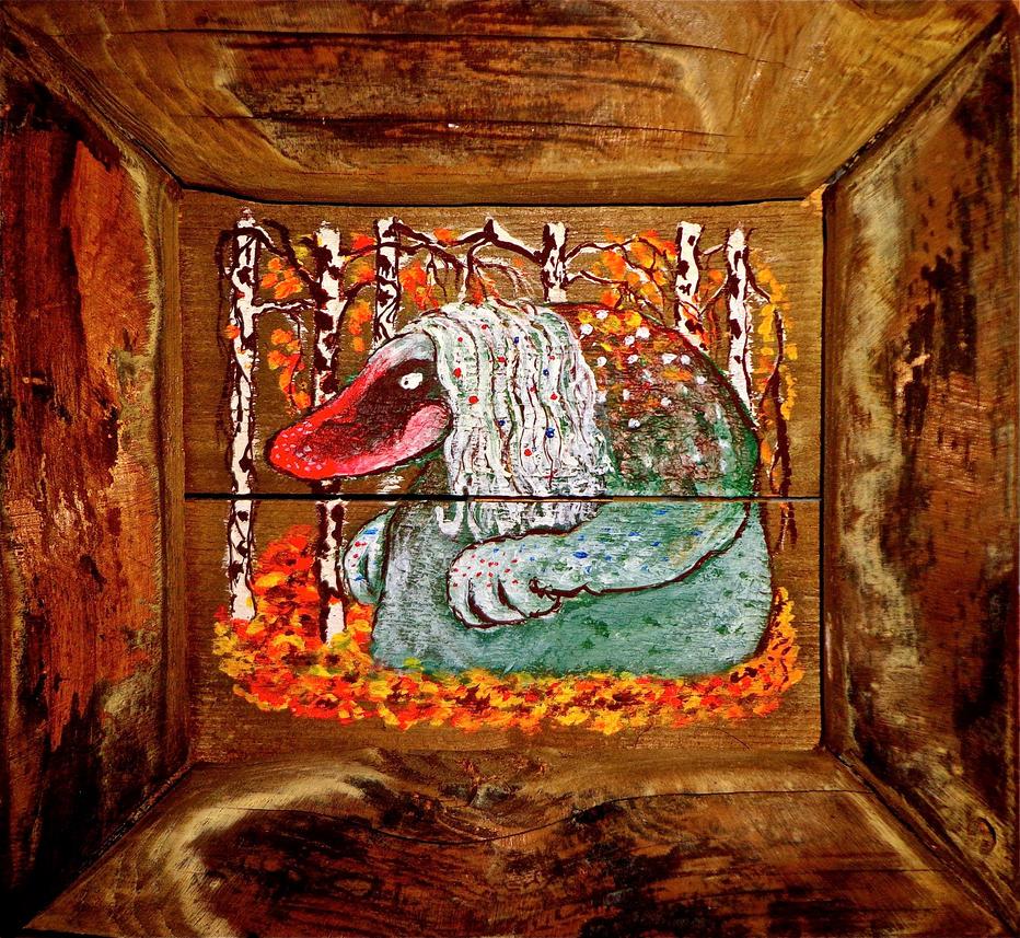 Autumn troll by chricko