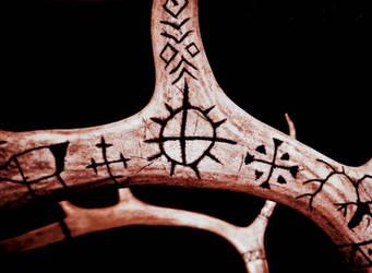 Reindeer mount 15, carved antlers by chricko