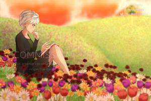 (Comm) Flower field