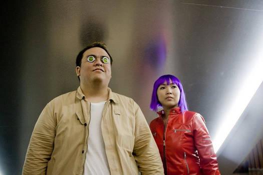 GITS Arise_Batou and Motoko Kusanagi