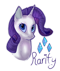 Rarity by Blaussi