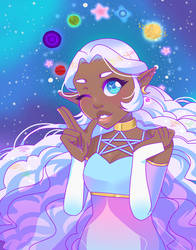 Space Princess by RosetteStudio
