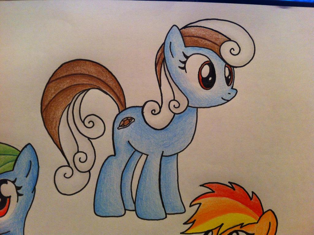 My Little Pony/Pokemon- Squirtle by sazmullium