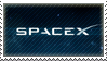 SpaceX Stamp by Mossfire365