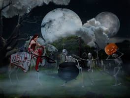 Halloween preparations by stebev