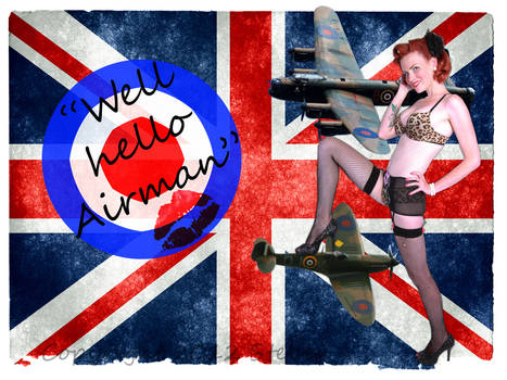 Airforce Pinup