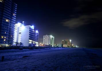 Blue Beach by lupiniastudios