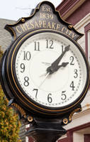 Chesapeake City Clock by lupiniastudios