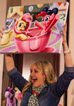 Andrea Libman is SO EXCITED About This Painting