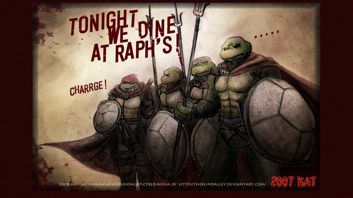 TMNT Wallpaper HD 4 By Theblindalley