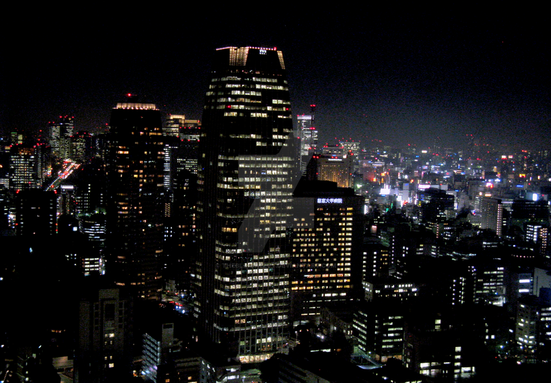 Night View From Tokyo Tower 1 by theblindalley