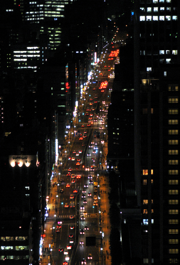 Tokyo's Main Artery 1 by theblindalley