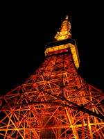 Tokyo Tower 5 by theblindalley