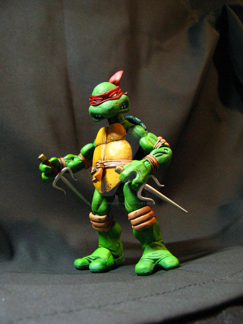 TMNT NECA Raph by theblindalley