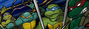 TMNT Forum Banner Color by theblindalley