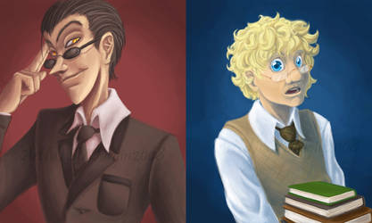 GO: Crowley and Aziraphale by Soularis