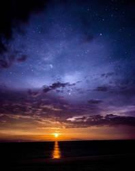 Pacific Ocean by Arteragazzina