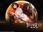 Blood-C Saya Reflejo Lunar by ragdehyuga