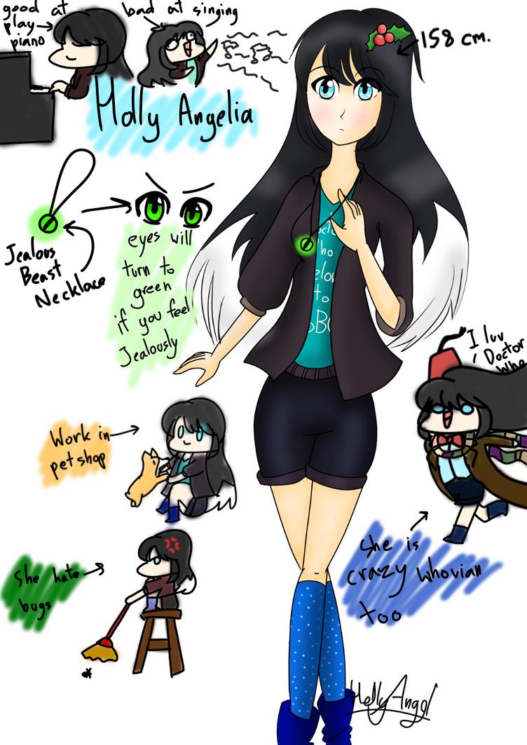 My OC Holly Angelia by HolidayDC