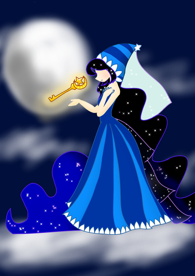 Moonlight godess by HolidayDC