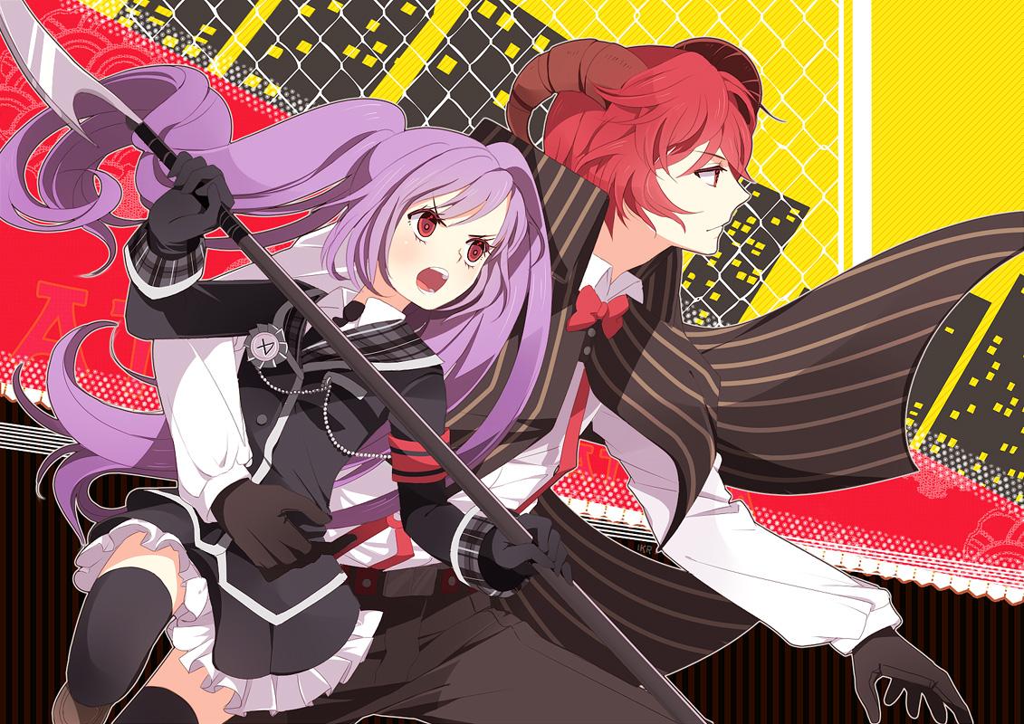 Comm: Midori + Astaroth by ikr