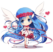 Comm: Chibi Luna by ikr