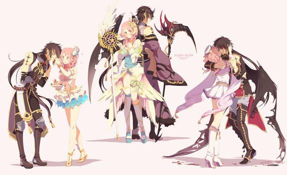 Comm: Misora and Akuma