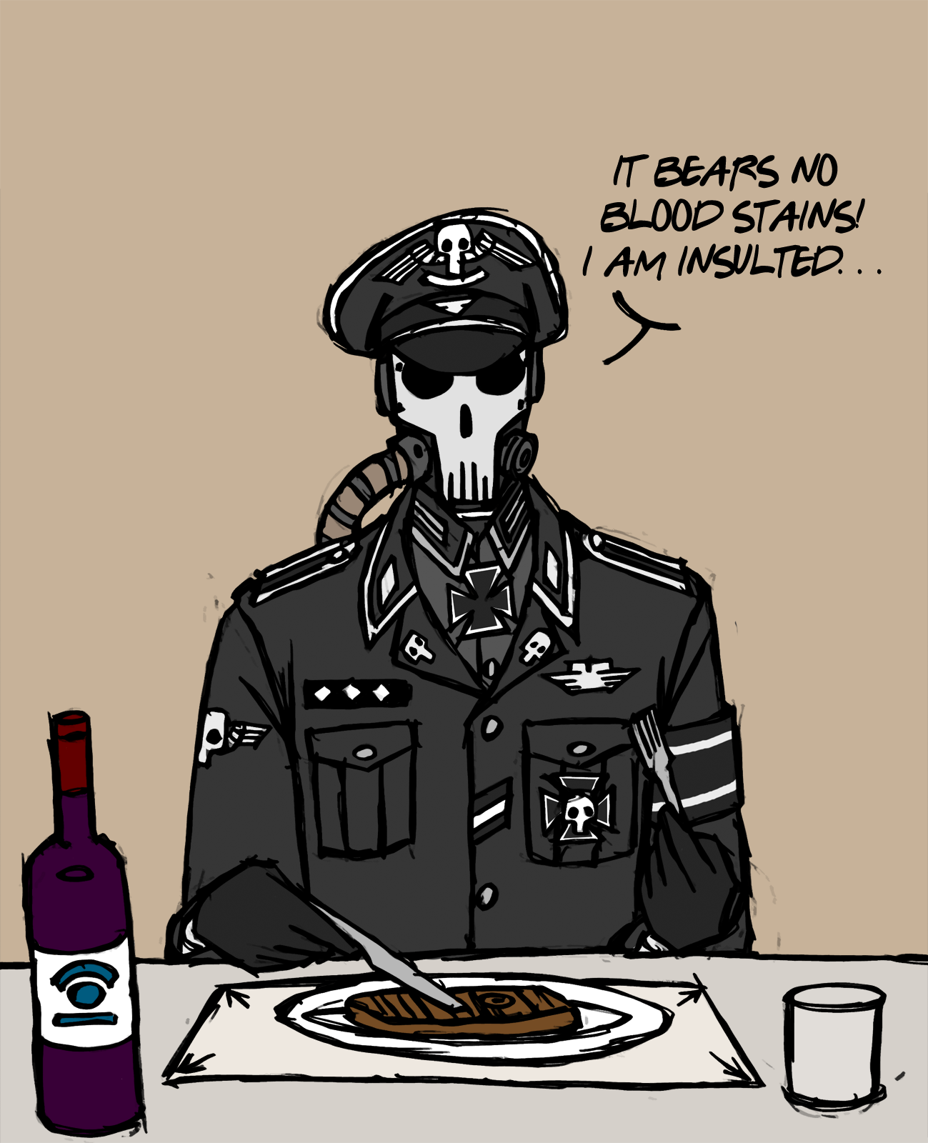 Dining With Death by NicklausofKrieg on DeviantArt