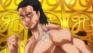 My OC Major in One Piece Film Gold (Screenshot) by Ryan5Gediche