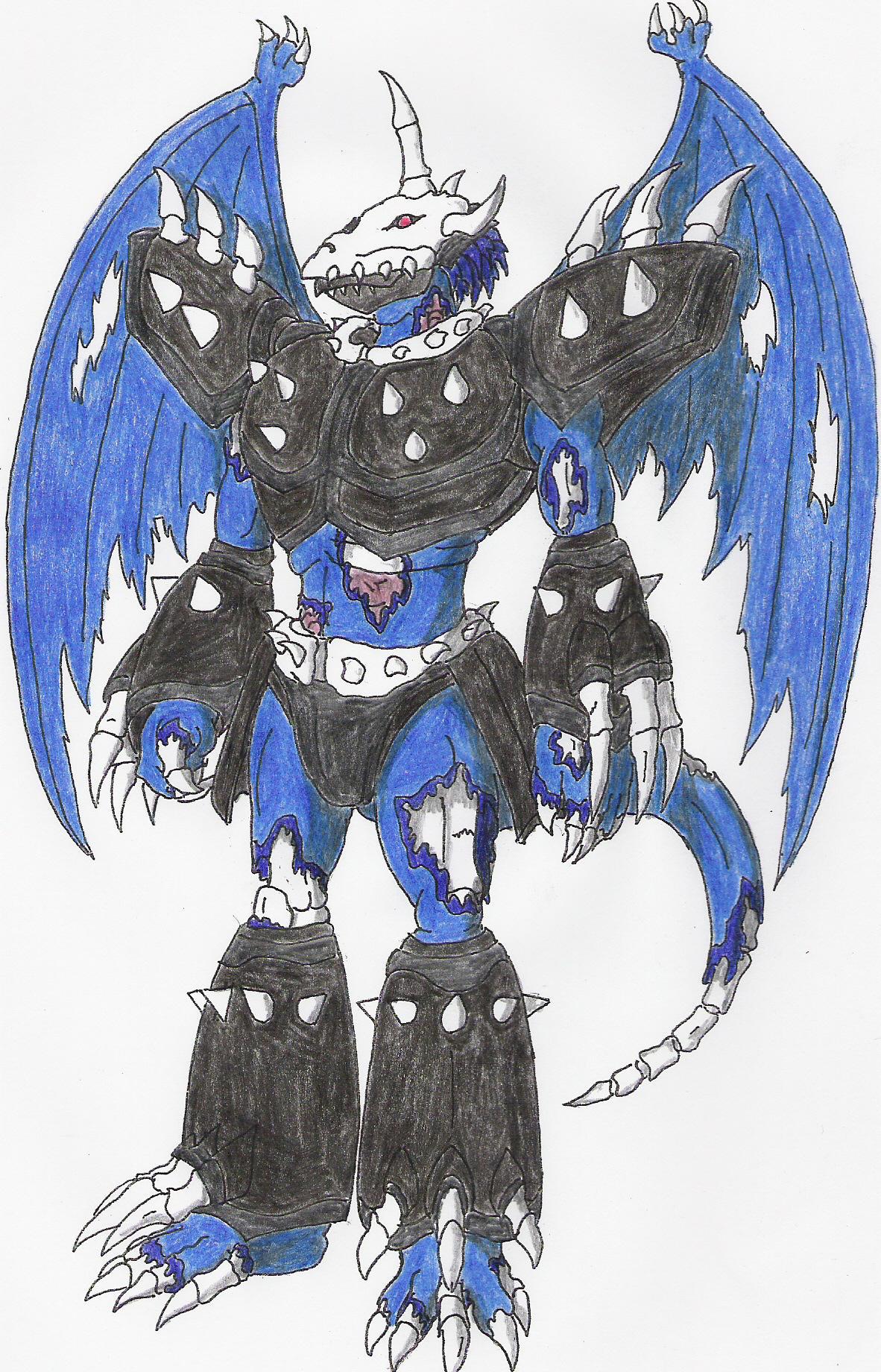 Death Greymon by Blackneogreymon on DeviantArt