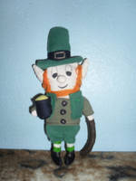 Irish leprechaun by drusnemet