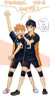 Hinata and Kageyama