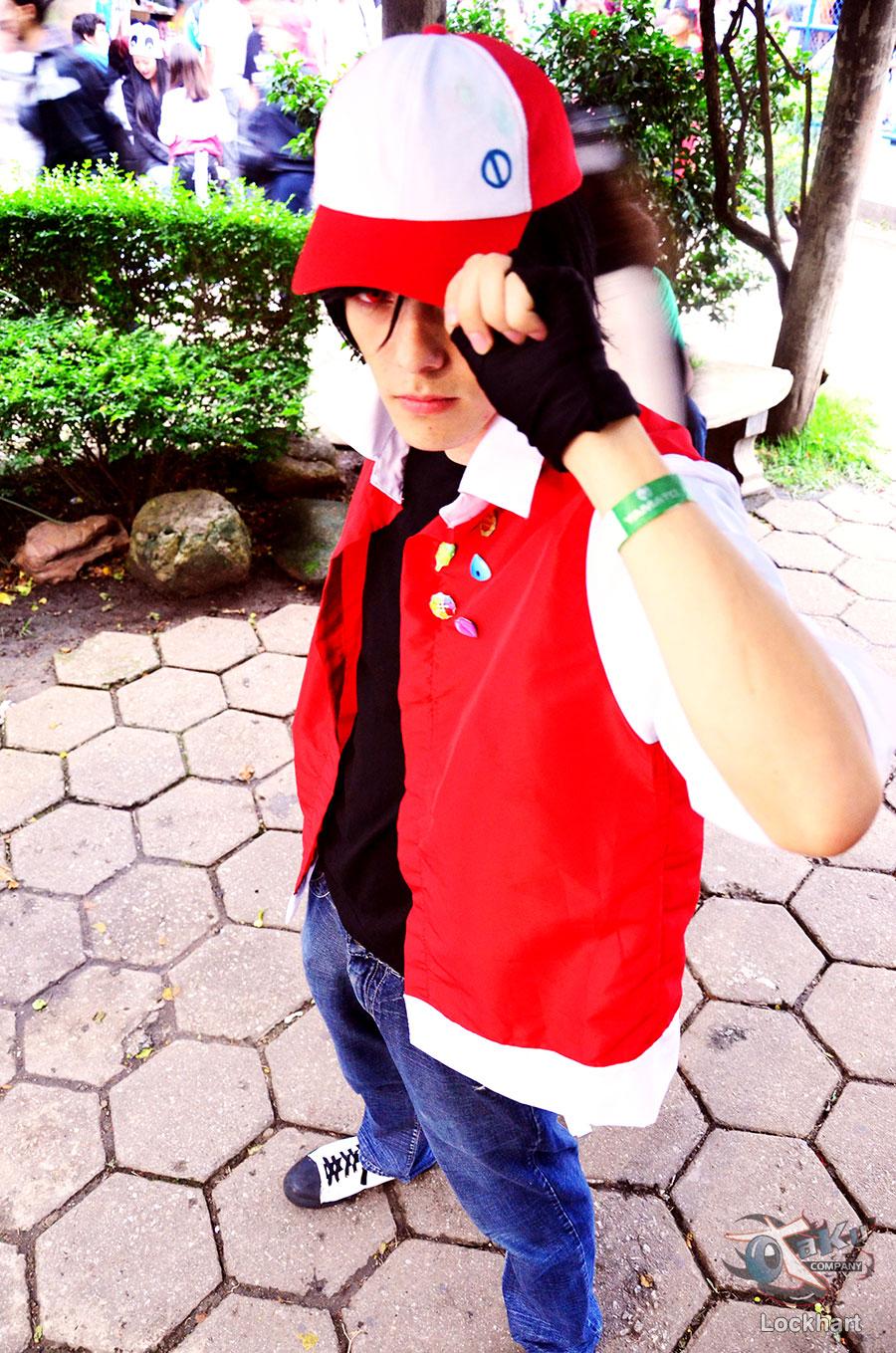 red pokemon adventures cosplay by thynz on deviantart