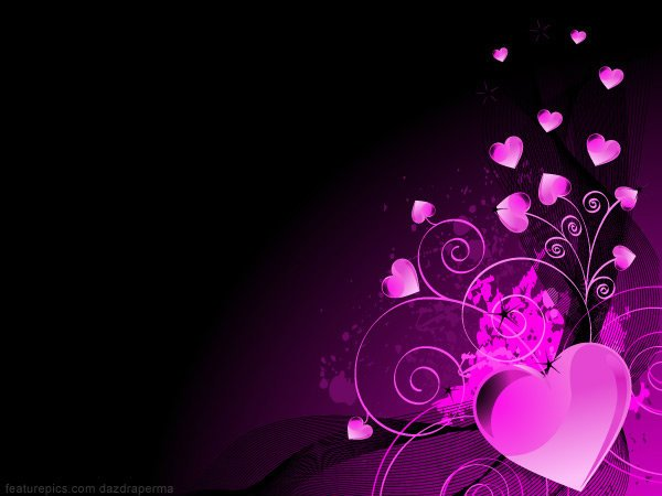 Purple And Black Hearts Wallpaper: Purple Heart Background By CrystalTheHedgehog18 On DeviantArt