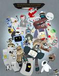 Robots robots and more robots