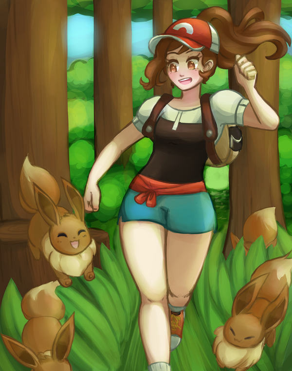 Let's Go Eevee by Kofwea