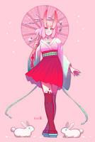 Spring Bunny by Kofwea
