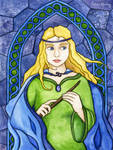 The Children of Lir: Aoife by brightrobin