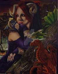 Draco Mater Amata (Dragons' Beloved Mother)
