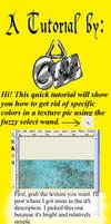 Editing Textures Using Wand