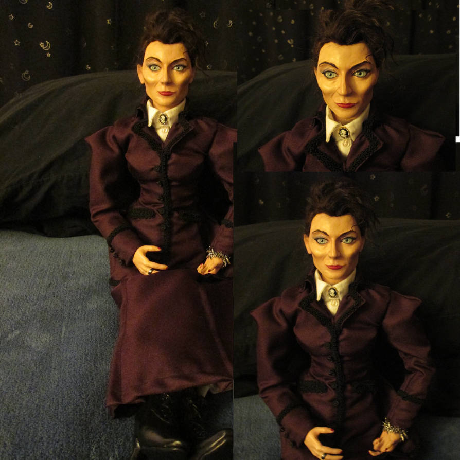 Missy from Doctor Who OOAK Art Doll