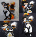 SOLD Papillon Lemur OOAK Poseable Art Doll