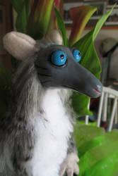 Cartoon Rodent Close Up