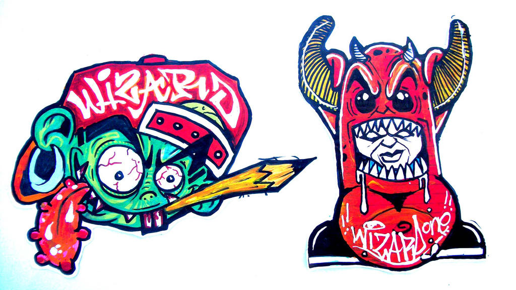 Crazy Graffiti Characters Related Keywords & Suggestions ...