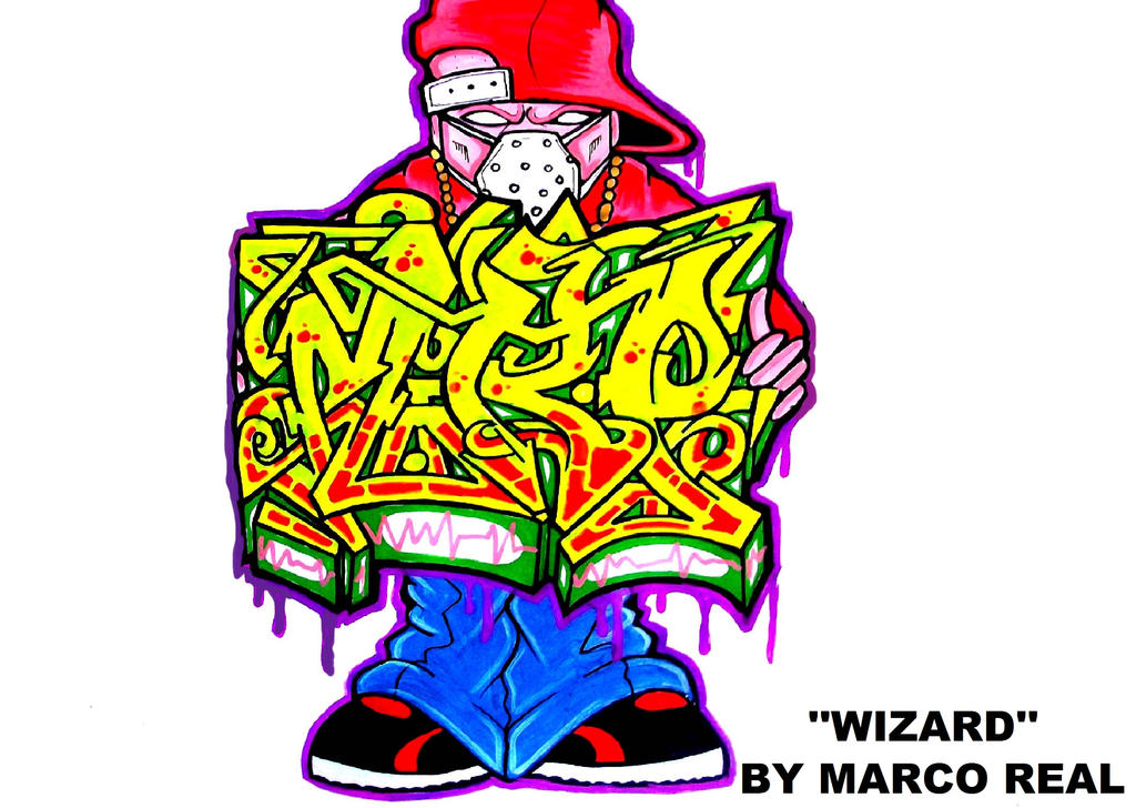 Gallery images and information drawings by wizard spray can