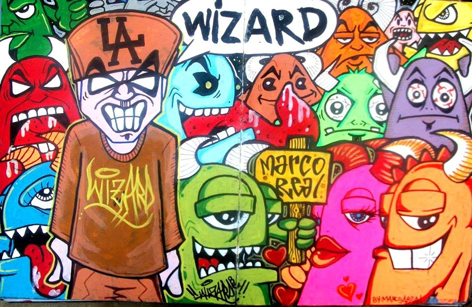 41 best Street Art - Characters images on Pinterest ... |Weed Graffiti Characters Wizard