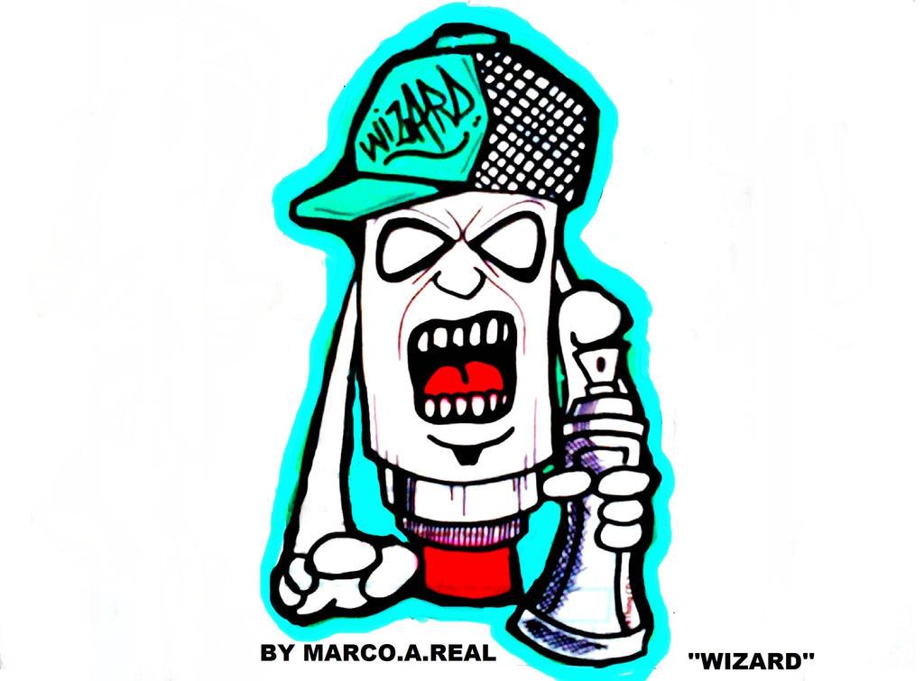 graffiti character by ...