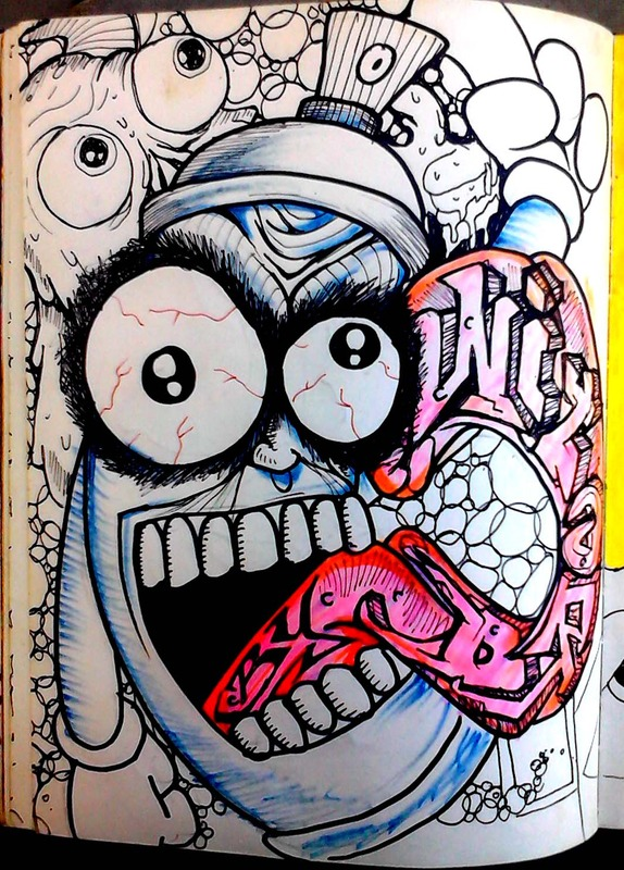 graffiti spray can character by wizard1labels on DeviantArt
