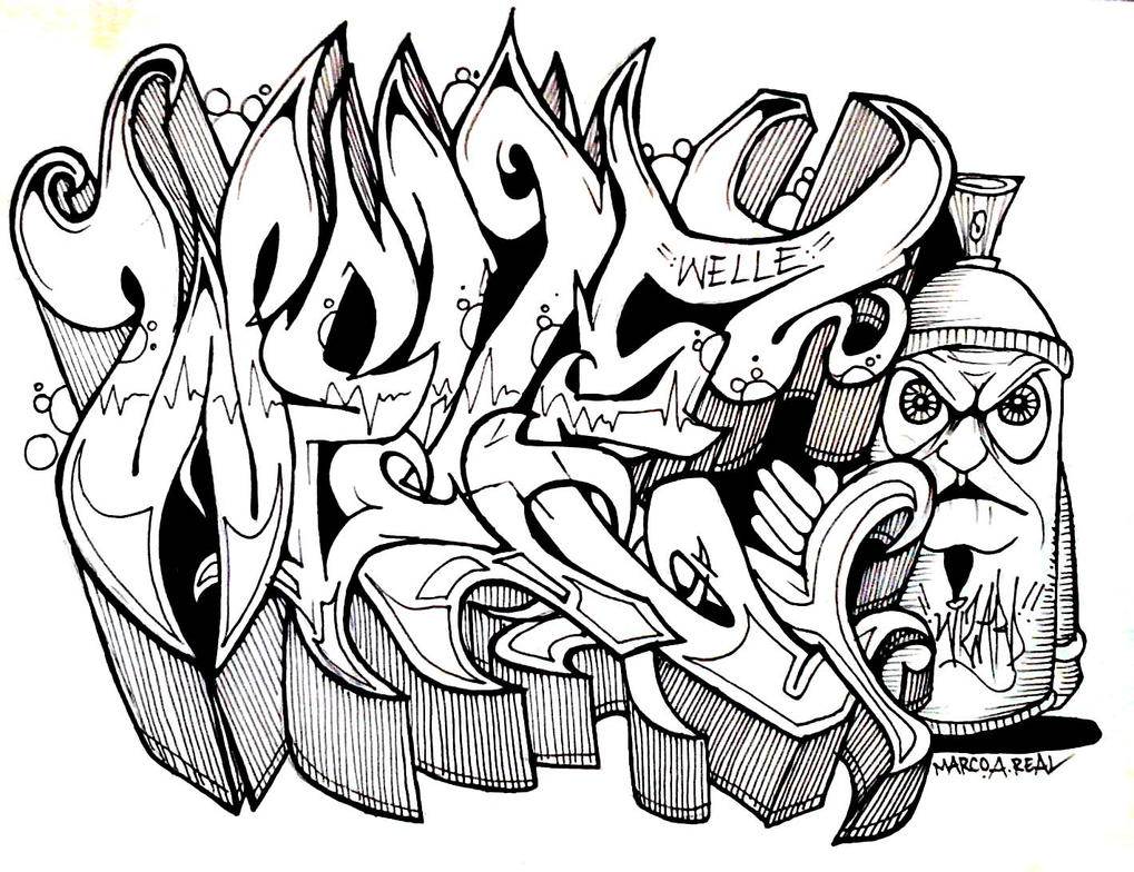 cholowiz graffiti - Welle by wizard1labels on DeviantArt